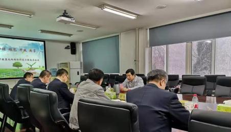 鞍钢集团总经理戴志浩到公司调研